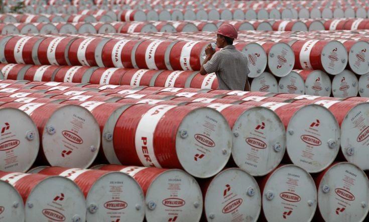 Άλμα καταγράφουν οι τιμές του πετρελαίου