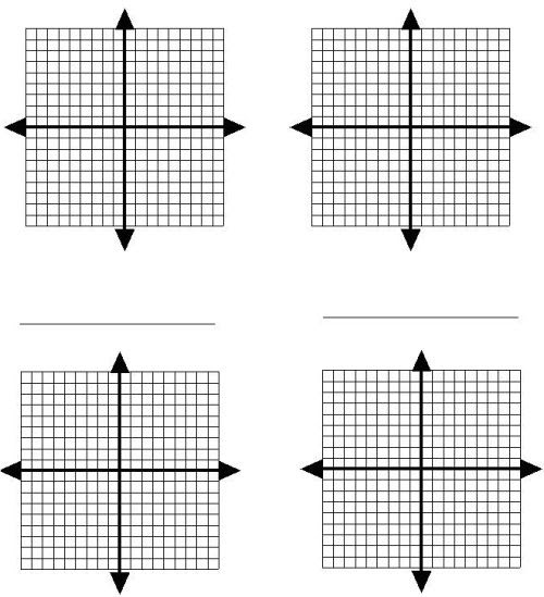 blank x and y graphs