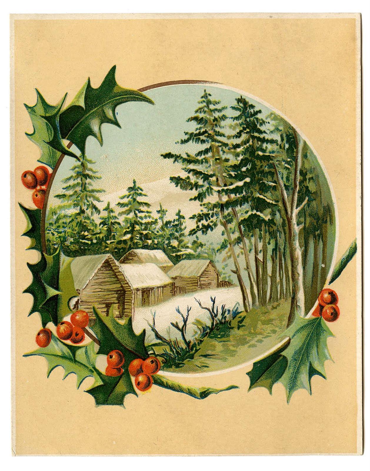 Christmas Scenes Clipart | Christmas Ideas