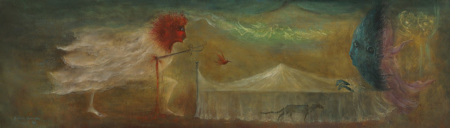 Leonora Carrington - Cour d'Amour Epris