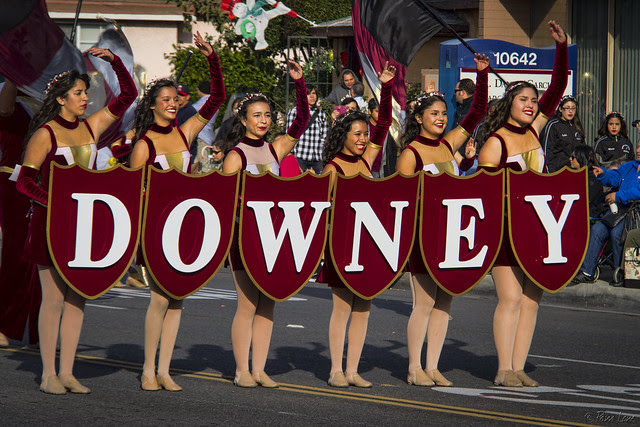 Downey Christmas Parade 2013 DHS