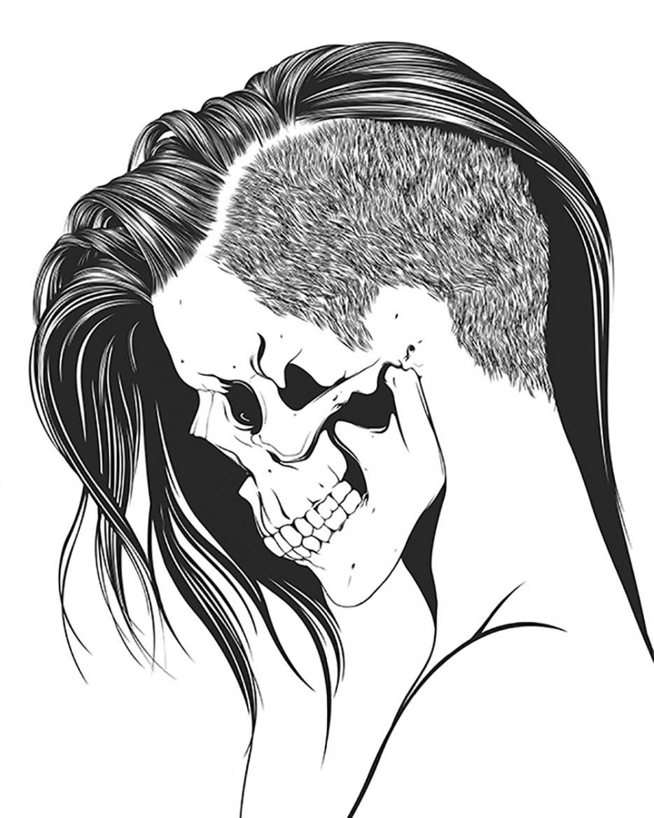 Tribal Skull Tattoos Designs And Ideas Clip Art Library