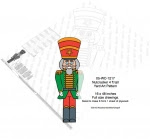 Nutcracker 4 ft tall Yard Art Woodworking Pattern - fee plans from WoodworkersWorkshop® Online Store - nutcrackers,Christmas,yard art,painting wood crafts,scrollsawing patterns,drawings,plywood,plywoodworking plans,woodworkers projects,workshop blueprints