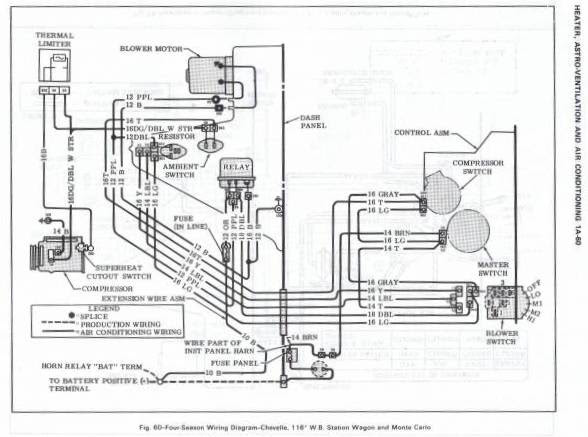 Fuse Box Diagram For 1965 Chevelle