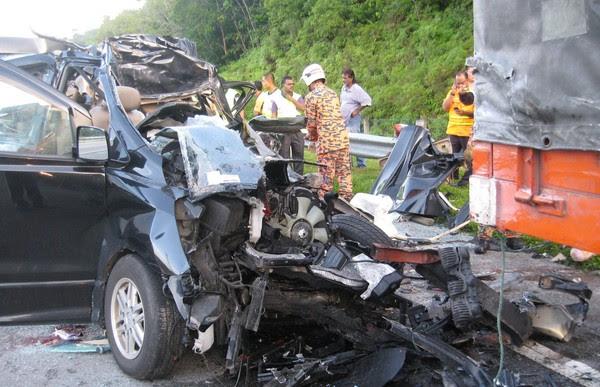 Lima Korban Kemalangan Ngeri
