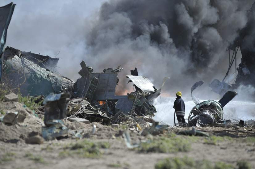 Accidente de avión en Mogadiscio