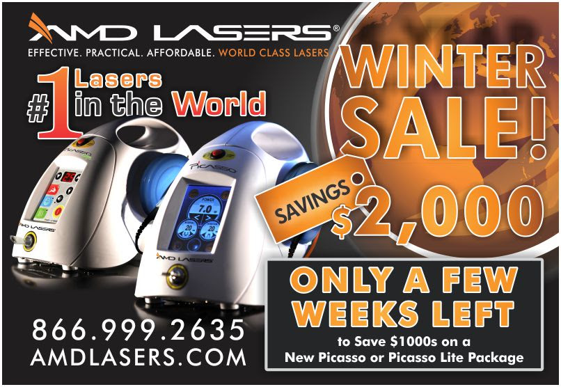 AMD LASERS Winter Sale