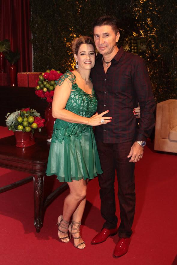 Sandra e Janguiê Diniz - Crédito: Nando Chiappetta/DP/D.A Press