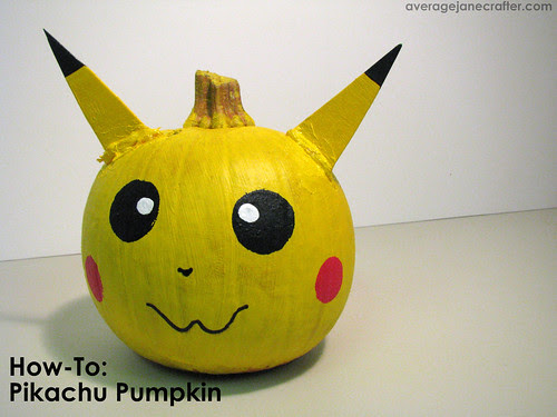 How-To: Make a Pikachu Pumpkin