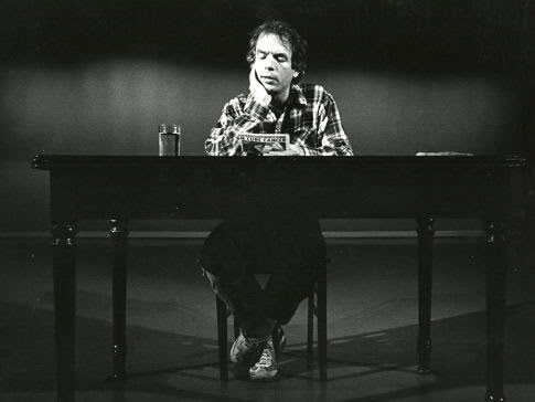 Spalding Gray at work