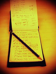 To-do list book.