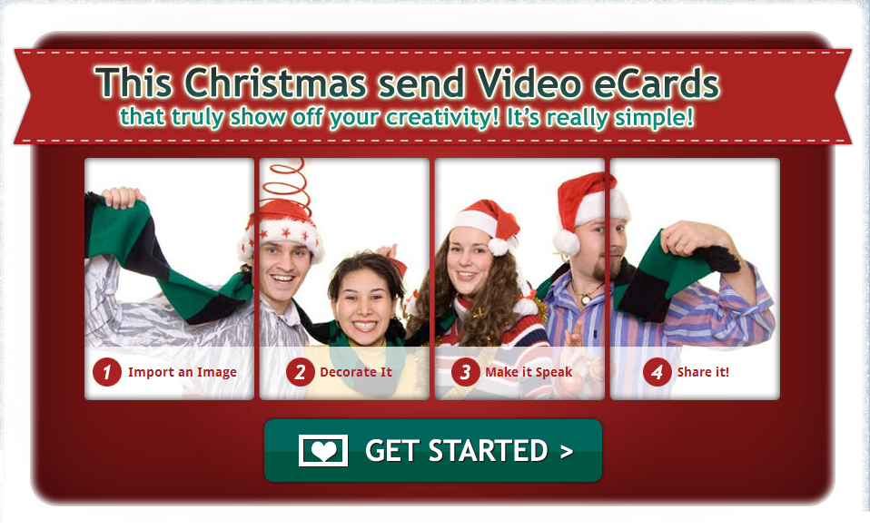 Christmas Card Movie Maker - Sinter C