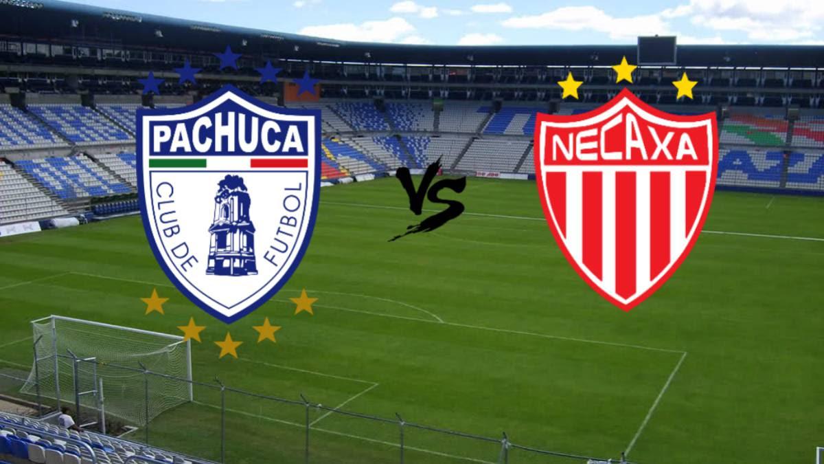 Pachuca VS Necaxa Liga MX J15