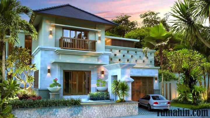 Rumah Minimalis Bergaya Hunian Bali Yang Penuh Harmoni  Rumah
