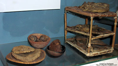 Food from a tomb