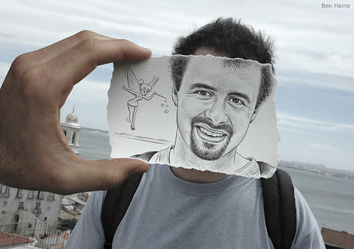 4655629111 40a0069094 in Incredibly Creative Pencil Drawings vs Photography