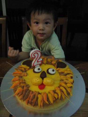 rory lion cake
