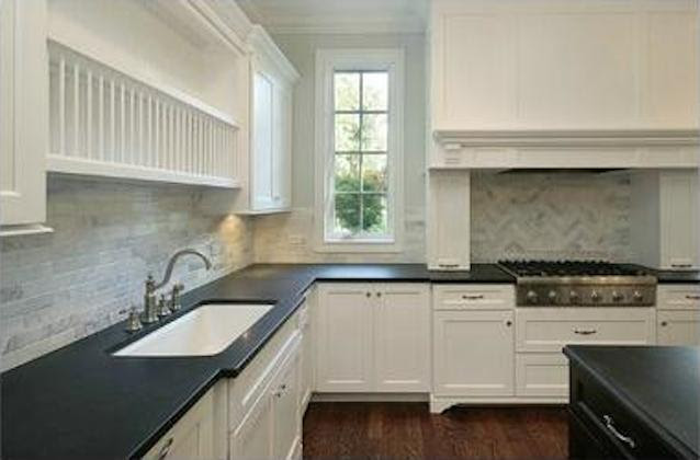 Options for a kitchen design with no window over the sink ...