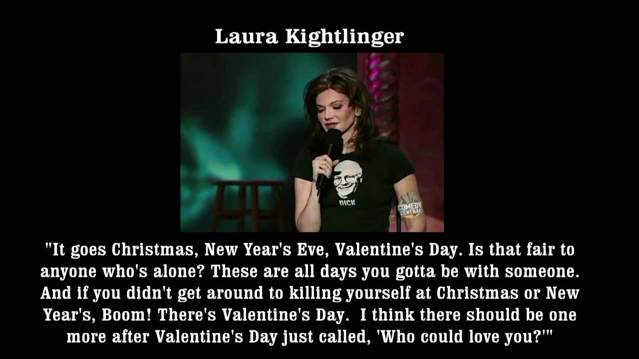Top Valentine's Day Quotes by Comedians - YouTube