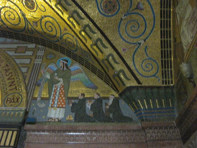 Monte Cassino Crypt Mosaics 14.JPG