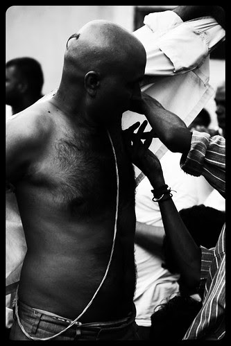 Shaving The Indian Armpit .. by firoze shakir photographerno1