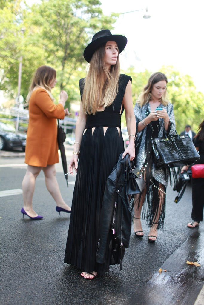 Street Style At Paris Fashion Week Haute Couture Fall