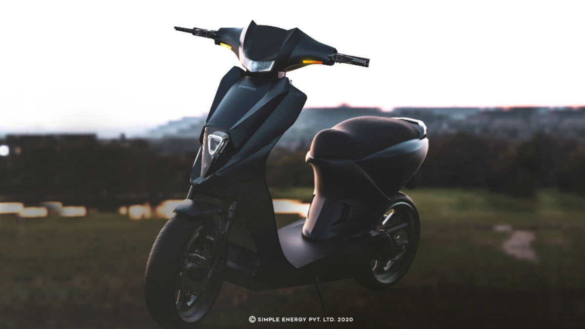 The Simple Energy Mark 2 is expected to be priced from Rs 1.1 to Rs.1.2 lakh (ex-showroom). Image: Simple Energy
