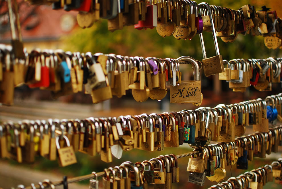 Love Locks In Slovenia