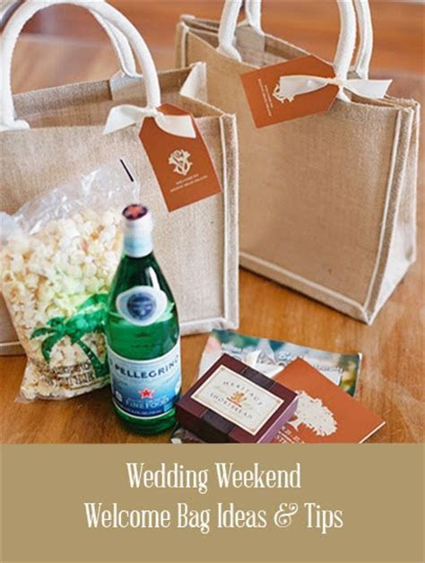 Wedding Welcome Bag Ideas