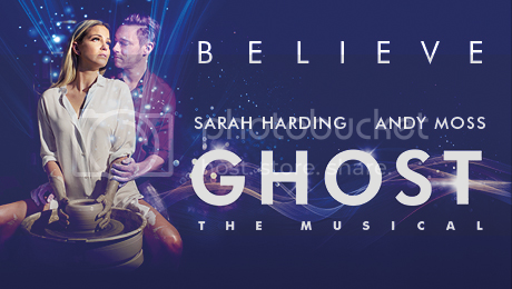 Ghost the Musical on Tour Poster
