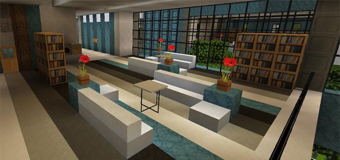 Gambar Rumah Modern Di Minecraft