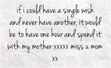 Miss My Mom Quotes For Facebook