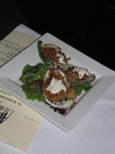 Oysters Bienville w/Abita S.O.S