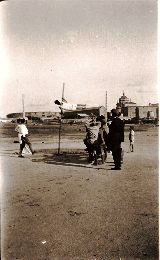 Escuela de Gimnasia, Toledo, años 20. Fotografía de Eduardo Butragueño Bueno