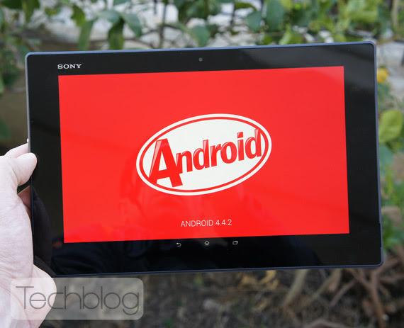 Sony Xperia Z2 Tablet TechblogTV