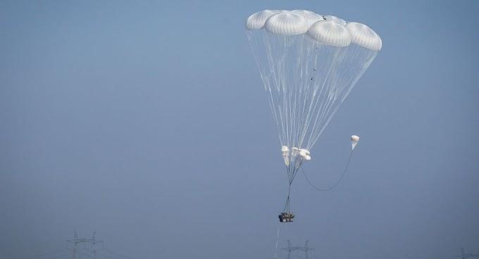 Queda livre: 2 blindados russos são destruídos após falha em paraquedas