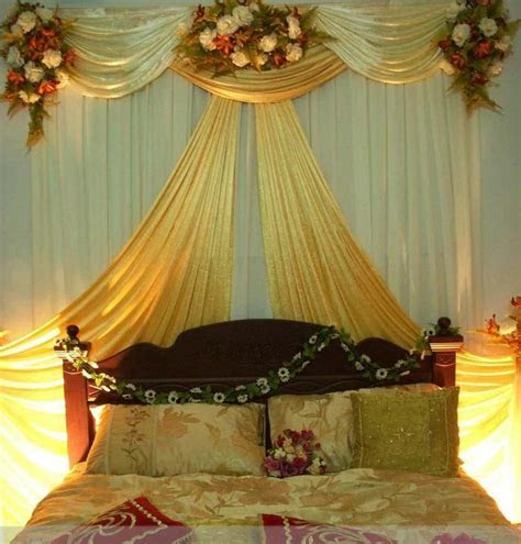 17 Best images about Wedding Bed Decoration on Pinterest