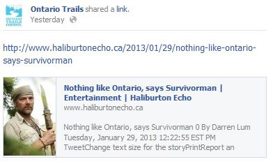 ontario haliburton echo
