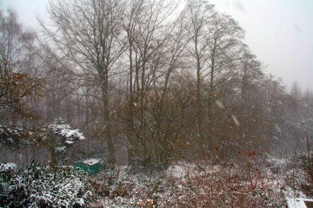Bald kommt der erste Schnee. Weihnachten ....