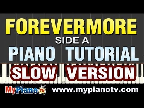 [Part 2/2] Side A - Forevermore (Piano Tutorial @ 50% Slower Speed)