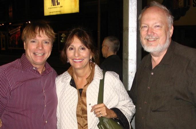 Jay Johnson with Linda and Rob Leahy