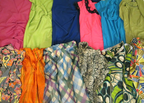 A Rainbow of Packing