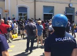 I profughi di Busto Arsizio protestano a Varese