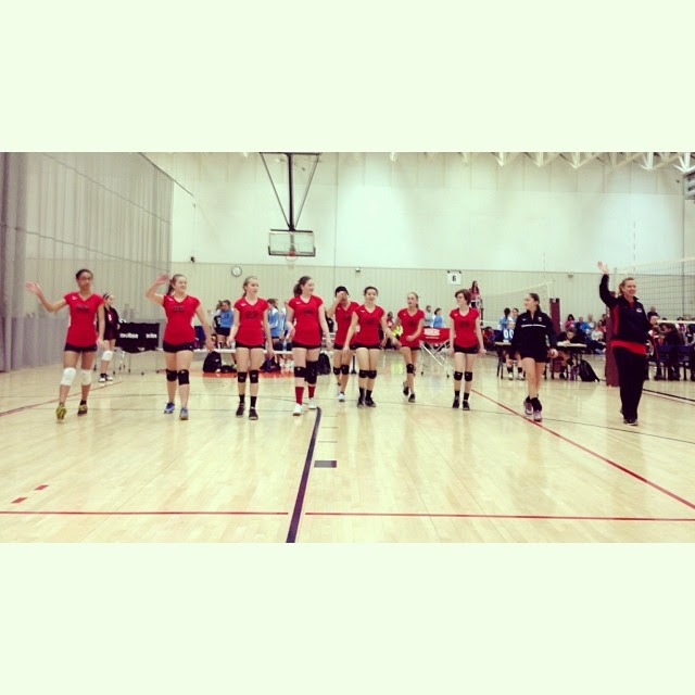 Volleyball begins #club #ott