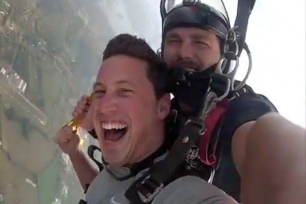 Matt Myles, skydiving