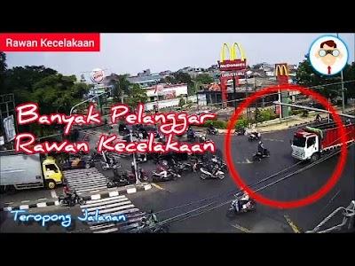 Teropong Jalanan Indonesia Rawan Kecelakaan - Banyak Pelanggar Lalu Lintas