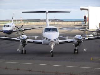 Skyline Aviation Beech B200C ZK-PLK