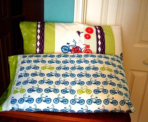 FO: Avalon Pillowcases