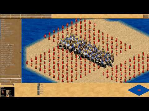 AGE OF EMPIRES II - Batallas gameplays.