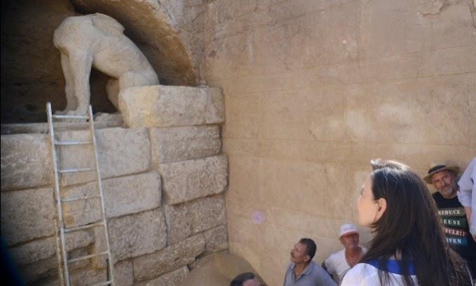 Πώς θα μπουν στον τύμβο οι αρχαιολόγοι
